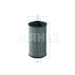 MAHLE Фильтр масляный, OX 152/1D