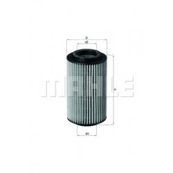 MAHLE Фильтр масляный, OX 153/7D