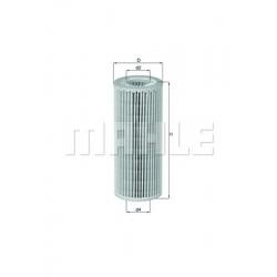 MAHLE Фильтр масляный, OX 381D