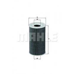 MAHLE Фильтр масляный, OX 128/1D
