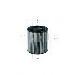 MAHLE Фильтр масляный, OX 154/1D