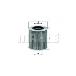 MAHLE Фильтр масляный, OX 387D
