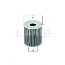 MAHLE Фильтр масляный, OX 175D