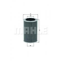 MAHLE Фильтр масляный, OX 258D