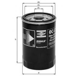 MAHLE Фильтр масляный, OC 485