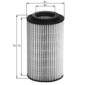 MAHLE Фильтр масляный, OX 345/7D