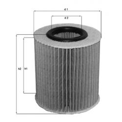 MAHLE Фильтр масляный, OX 413D1