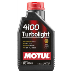 MOTUL 4100 Turbolight 10W-40