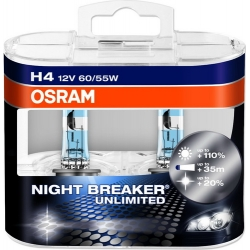 OSRAM Night Breaker Unlimited, H4